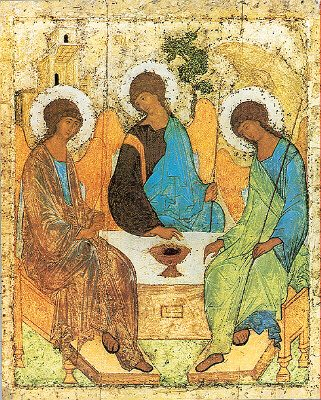 Rublev's Icon of the Trinity (69036 bytes)